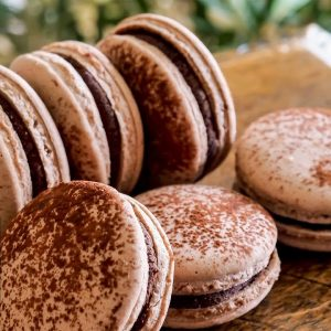 Chocolate Macaron by Emojoie Cuisine | ASMR Cooking Sounds