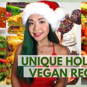FUN & EASY VEGAN CHRISTMAS RECIPES / Vegan Holiday Recipes