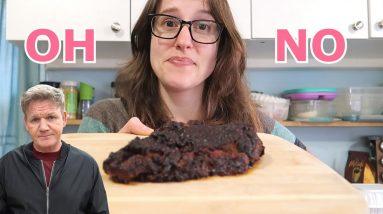 I Made Gordon Ramsay's Weird Vegan Eggplant Steak