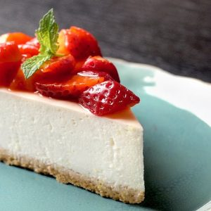 No-Bake Cheesecake | ASMR Cooking Sounds 4K
