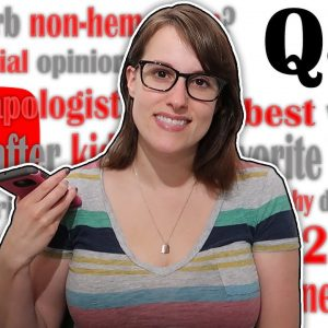 Q&A #3 (Political Ideology...again? Meat Eater Apologist? My body after 2 kids? Favorite tv show?)