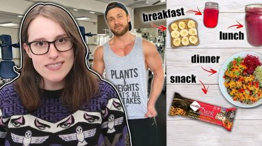Simnett Nutrition Shows Us How To Get Lean on a Vegan Diet