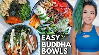 VEGAN BUDDHA BOWLS (EASY PLANT-BASED RECIPES)